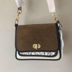 Sale❤️Tory Burch Mixed Shoulder Bag